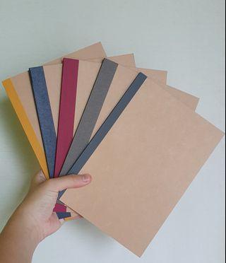 🚚 A5 Muji Notebooks