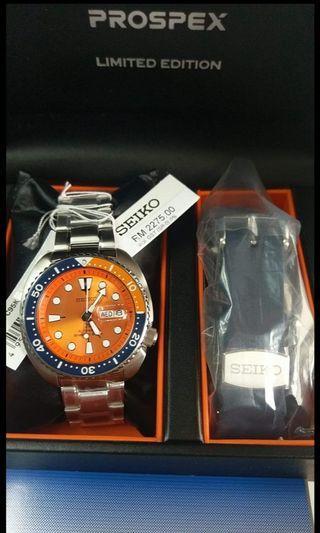 Seiko turtle nemo limited edition srpc95k1 diver 200m