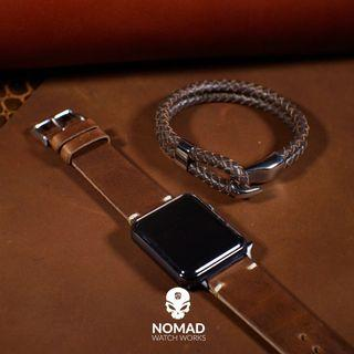 N2W Vintage Horween Leather Strap for Apple Watches