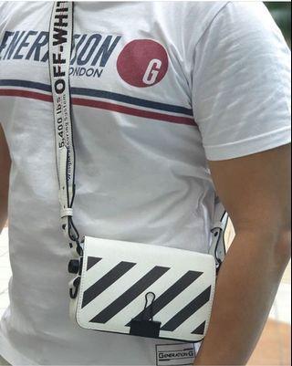 #BAPAU OFF WHITE Small Binder Bag