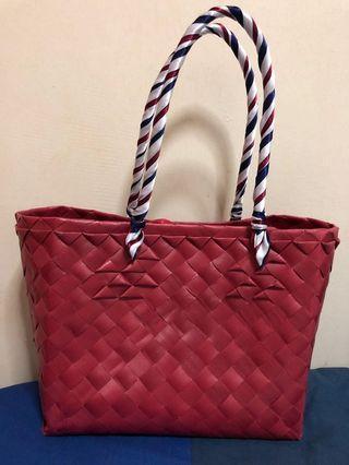 🚚 Plastic Straw Hand bag