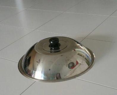 Stainless steel cover Dia 34cm