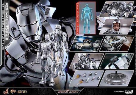 全新啡盒未開 Sideshow Hottoys Ironman Mark II (特別版)  啡盒未開。