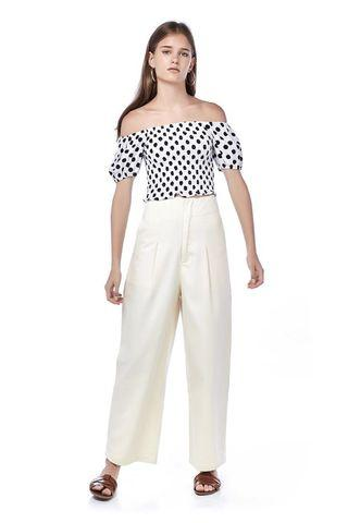editor's market cream pants