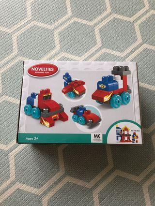Train Building blocks