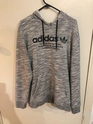 Adidas Three Stripe Hoodie