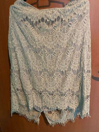 🚚 Plus size lace skirt (fits from UK 18-22)