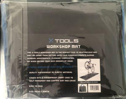 Bicycle workshop mat