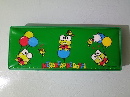 1991 青蛙筆盒 老香港懷舊文具