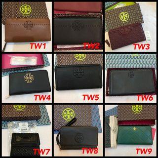 (18/08/19)Authentic Tory Burch card holder wallet ready stock listing