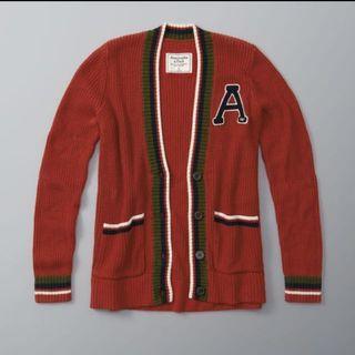 Abercrombie & Fitch Varsity Cardigan