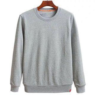 Korean Style Man Sweat Shirt Long Sleeve