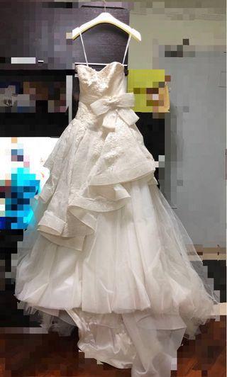 Cocoon Wedding Gown 婚紗👰🏻