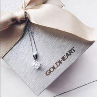 Goldheart necklace