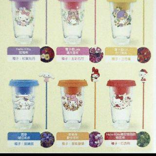 三麗鷗盆栽玻璃杯