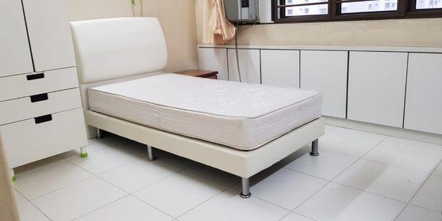 Single Bed frame and mattress for sale!