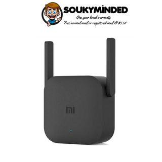 [IN-STOCK] Xiaomi WiFi Repeater Amplifier Pro, Xiaomi Pro 300Mbps WiFi Amplifier 2.4G WiFi Repeater Extender Signal Boosters with 2 External Antennas