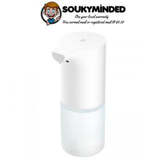 [IN-STOCK] Xiaomi Automatic Hand Soap Dispenser - 2018 Model - Hands Free Sanitizer Wash with Touchless IR Infrared Auto Sensor - Liquid Soap Container Holder Toilet Bathroom Kitchen - Rack Storage Shelf - 320ml