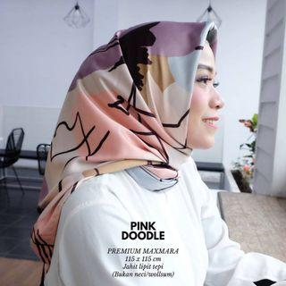 #RamadanSale Hijab Maxmara Motif Doddle NEW