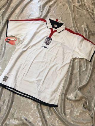 英格蘭主場波衫 (短袖,雙面) 2003/2005