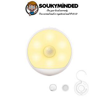 [IN-STOCK] Yeelight Smart Rechargeable Motion Activated LED Nightlight IR Sensor - Plug and Play Night Light - Mi Infra Red Body and Light Sensitive Sensor - Infrared - USB Power Recharge - 120 Days Battery