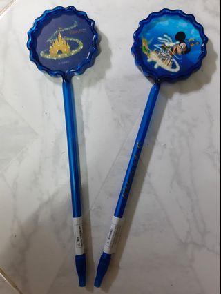 迪士尼藍原子筆