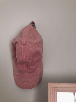 Net 淺粉色帽