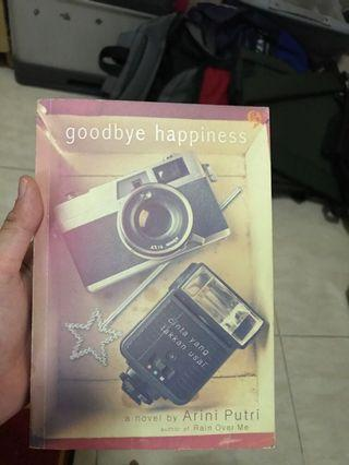 #BAPAU Goodbye Happiness novel