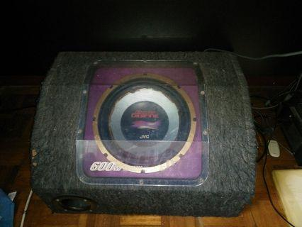 JVC CS DX700 subwoofer for car 600w 12''