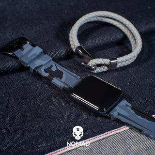 🚚 V3 Silicone Strap in Grey Camo for Apple Watches