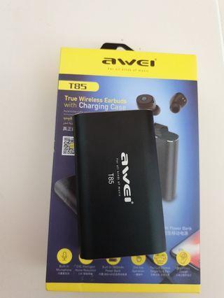 🚚 Awei T85 bluetooth 5.0 sport earpiece