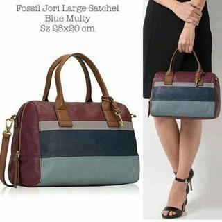 Fossil Jori Large Satchel Original Second Muluus