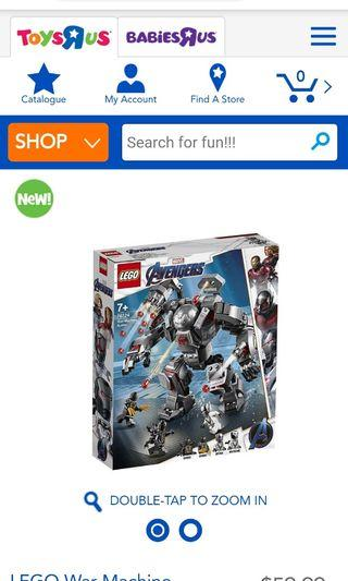 Brand new Lego war machine buster