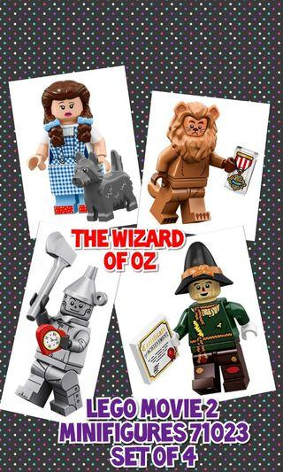 Lego Wizard of Oz Set The LEGO Movie 2: The Second Part 71023 Minifigures TLM2 Not Disney Series 2 71024
