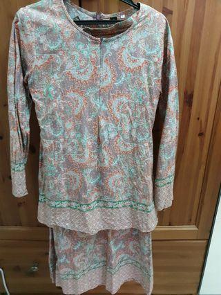 CALICE Baju Kurung Cotton
