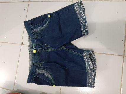 #BAPAU Jeans pendek