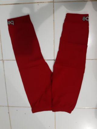 #BAPAU Legging merah 7/8