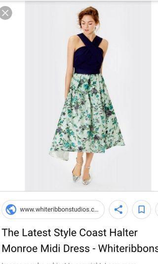 Coast halter dress