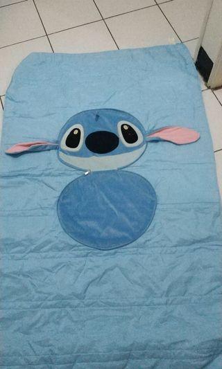 🚚 史迪奇枕頭薄毯