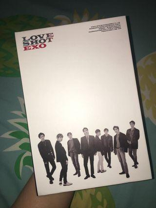 EXO LOVE SHOT ALBUM