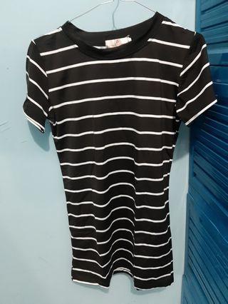 #BAPAU Stripe dress
