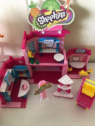 🚚 Shopkins Kinstructions Shopville Town Center