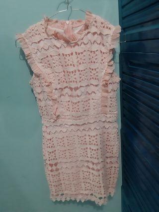 #BAPAU Mini dress pink