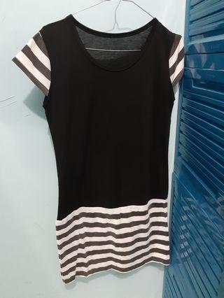 #BAPAU Dress hitam