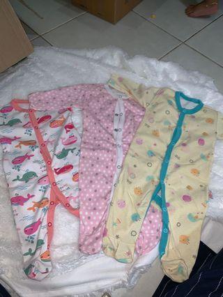Sleepsuit 3pcs