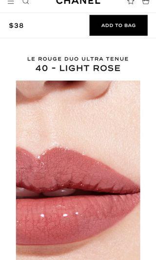 $300 Chanel le rouge duo  持久不脫色2用2頭唇彩 matte 啞緻 + shine效果