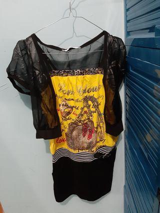 #BAPAU Dress + rompi