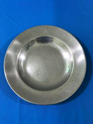 Stainless steel bowl plates