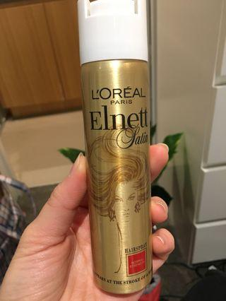 BRAND NEW RRP$11 L'Oréal Paris Elnett Satin Hairspray