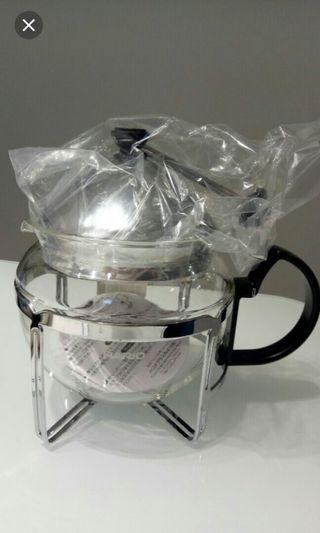 Stainless Steel tea maker (4 cup)